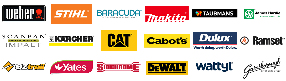 Featured Brands group logos